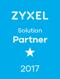 ZyXEL Partnerlogo Solution Partner 2017